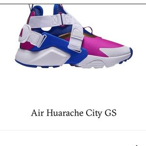 Air Huarache City GS size 5.5 youth